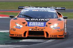 #27 Team Lazarus, Lamborghini Huracan GT3: Thomas Biagi, Fabrizio Crestani