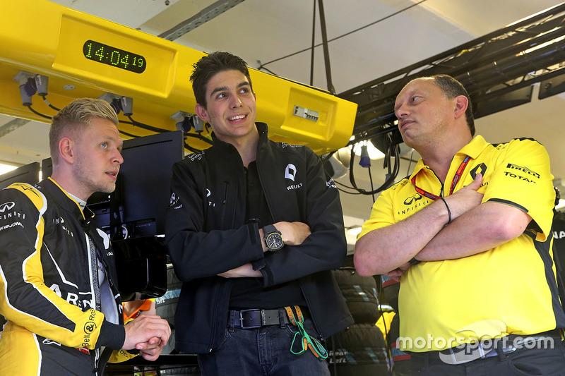 Kevin Magnussen, Renault Sport F1 Team, Esteban Ocon, Üçüncü Pilot, Renault Sport F1 Team ve Frederi