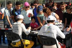 Louis Deletraz, Fortec Motorsports ve Pietro Fittipaldi, Fortec Motorsports