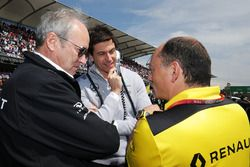 Jérôme Stoll, Renault Sport F1 Presidente con Toto Wolff, Mercedes AMG F1 accionista y Director Ejec