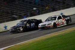 Danica Patrick, Stewart-Haas Racing, Chevrolet; Josh Wise, The Motorsports Group, Chevrolet