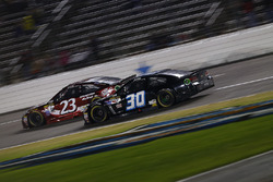 Josh Wise, The Motorsports Group Chevrolet, David Ragan, BK Racing Toyota