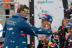 Dr. Frank Welsch und Sébastien Ogier, Volkswagen Motorsport