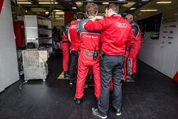 Audi Sport Team Joest bloquean la vista del #7 Audi Sport Team Joest Audi R18