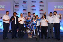 Aravind KP, Sherco TVS con il TVS team