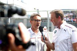 Bernd Schneider et Dirk Adorf