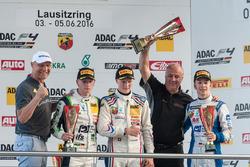 Podyum: Axel Schulz; 2. Jannes Fittje, US Racing; 1. Fabio Scherer, Jenzer Motorsport; Andreas Jenze