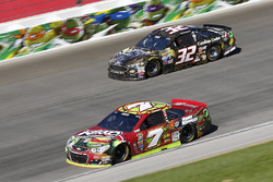 Ty Dillon, Tommy Baldwin Racing Chevrolet, Joey Gase, Go Green Racing Ford