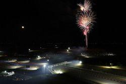 Sfeerbeeld: Vuurwerk op het Circuit of the Americas