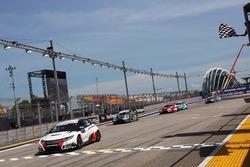 Sieger Mikhail Grachev, Honda Civic TCR , WestCoast Racing; 2. Dusan Borkovic, Seat Leon, B3 Racing