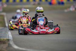 #42 Rennes CG Racing NSVEK: Nicolas Messager, Gwenael Le Dizez, Corentin Gilson, Ebel Gautier