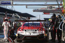 #22 Nissan GT Academy Team RJN Nissan GT-R Nismo GT3: Romain Sarazin, Sean Walkinshaw, Riccardo Sanchez