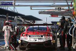 #22 Nissan GT Academy Team RJN Nissan GT-R Nismo GT3: Romain Sarazin, Sean Walkinshaw, Riccardo Sanc