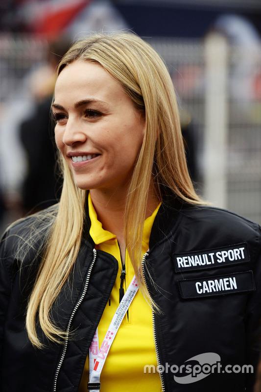Carmen Jorda, Team Development Driver Renault Sport F1