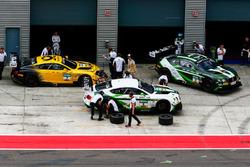 #8 Bentley Team ABT, Bentley Continental GT3: Fabian Hamprecht, Guy Smith