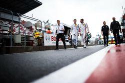 Paul Di Resta, Mercedes-AMG Team HWA, Mercedes-AMG C63 DTM and Maximilian Götz, Mercedes-AMG Team HWA, Mercedes-AMG C63 DTM