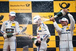 Podium: Tom Blomqvist, BMW Team RBM, BMW M4 DTM; Marco Wittmann, BMW Team RMG, BMW M4 DTM; Bruno Spengler, BMW Team MTEK, BMW M4 DTM.