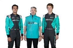 Nelson Piquet Jr., Martin Leach and Oliver Turvey, NeXTEV TCR Formula E Team