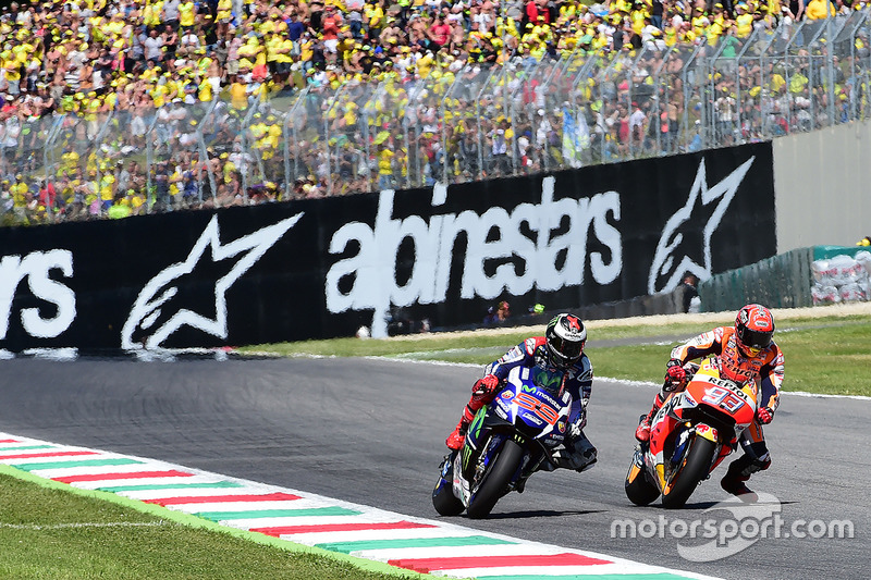 #4: GP Italien 2016 in Mugello: 0,019 Sekunden