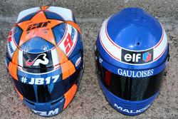 Шлем Нормана Нато, Racing Engineering and Olivier Panis helmet