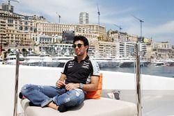 Sergio Perez, Sahara Force India F1, Hype Energy Drink yatında