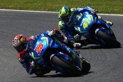 Маверик Виньялес, Team Suzuki MotoGP и Алеш Эспаргаро, Team Suzuki MotoGP