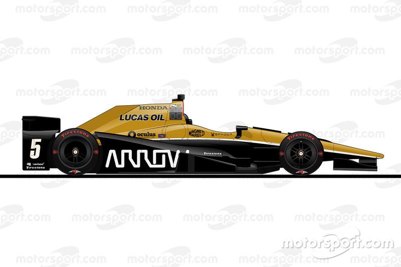 1. Джеймс Хинчклифф, Schmidt Peterson Motorsports Honda