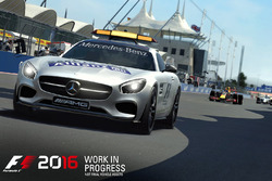 De safety car in F1 2016