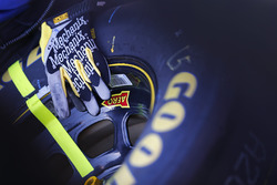 Mechanix Wear gloves and Goodyear tire