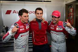 LMP1 polesitters #8 Audi Sport Team Joest Audi R18: Lucas di Grassi, Loic Duval, Oliver Jarvis