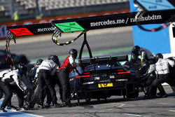 Boxenstopp: Daniel Juncadella, Mercedes-AMG Team HWA, Mercedes-AMG C63 DTM