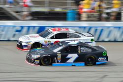 Regan Smith, Tommy Baldwin Racing, Chevrolet; Matt DiBenedetto, BK Racing, Toyota