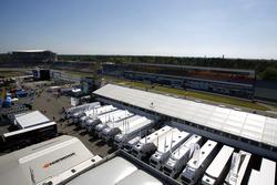 Blick über Fahrerlager