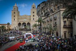 Podio Rally Targa Florio