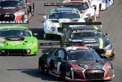 #1 Belgian Audi Club Team WRT, Audi R8 LMS: Frederic Vervisch, Laurens Vanthoor
