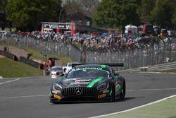 #86 HTP Motorsport, Mercedes AMG GT3: Jules Szymkowiak, Bernd Schneider