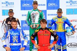 DSKM Rennen 1: 1. Marco Ardigo; 2. Anthony Abbasse; 3. Davide Fore; 4. Jorge Pescador; 5. Tommasco M