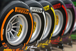Des pneus Pirelli de démonstration