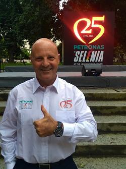 Miki Biasion, due volte campione del mondo rally, nel 1988 e nel 1989.