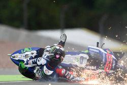 Chute de Jorge Lorenzo, Yamaha Factory Racing