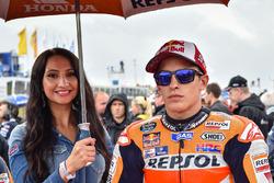Marc Marquez, Repsol Honda Team et une Grid Girl