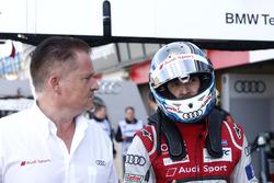 Rene Rast, Audi Sport Team Rosberg, Audi RS 5 DTM avec un ingénieur