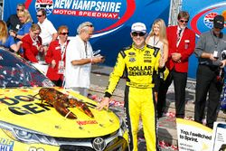 Le vainqueur Matt Kenseth, Joe Gibbs Racing Toyota