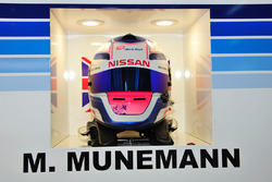 #25 Algarve Pro Racing Ligier JSP2 Nissan: Michael Munemann helmet