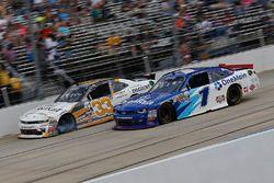 Brandon Jones, Richard Childress Racing Chevrolet, Elliott Sadler, JR Motorsports Chevrolet