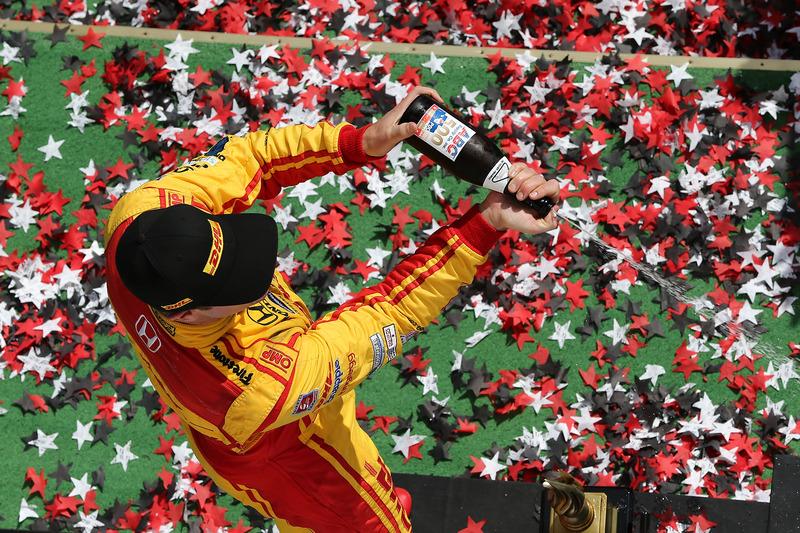 Il terzo classificato Ryan Hunter-Reay, Andretti Autosport Honda