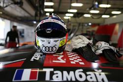 Helmet of Adrien Tambay, Audi Sport Team Rosberg, Audi RS 5 DTM