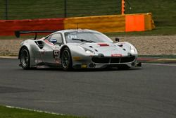 #55 AT Racing, Ferrari 488 GT3: Pierguiseppe Perazzini, Thomas Flohr, Marco Cioci, Francesco Castell