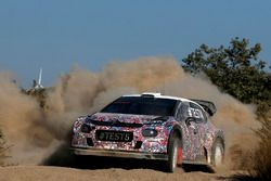 Kris Meeke, Craig Breen ve Khalid Al-Qassimi, Citroën World Rally Team, Citroën C3 WRC Plus 2017
