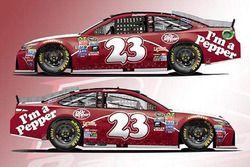 Throwback-Design von David Ragan, BK Racing, Toyota